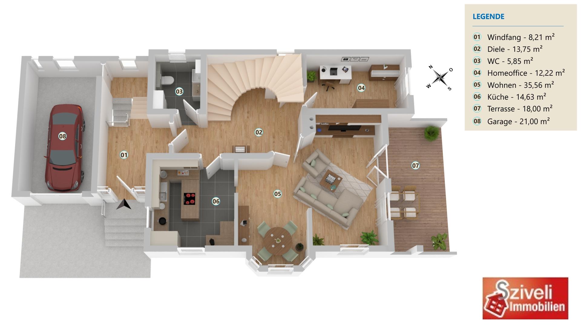 Vorschau von Erdgeschoss