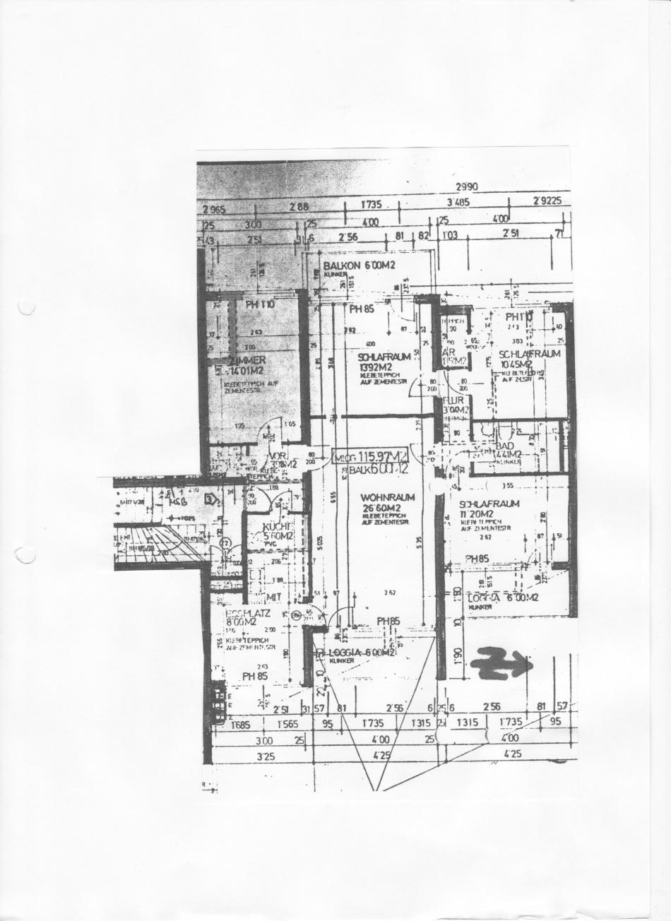 Vorschau von Wohnungsplan 2340, Guntramsdorferstr. 8a-3