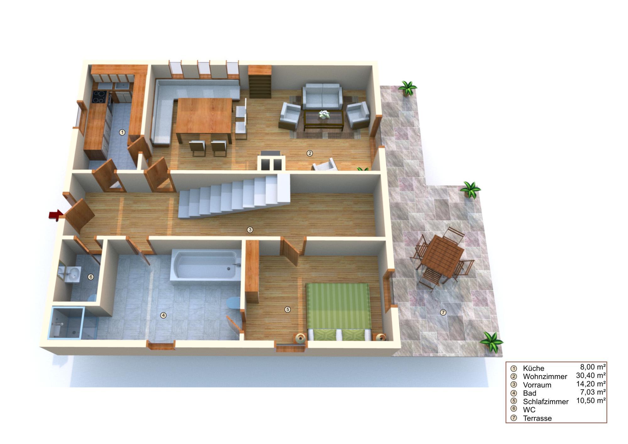 Vorschau von Plan Erdgeschoss